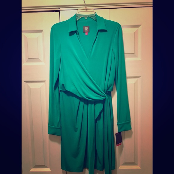 Vince Camuto Dresses & Skirts - Vince Camuto green dress sz 10 w/tags